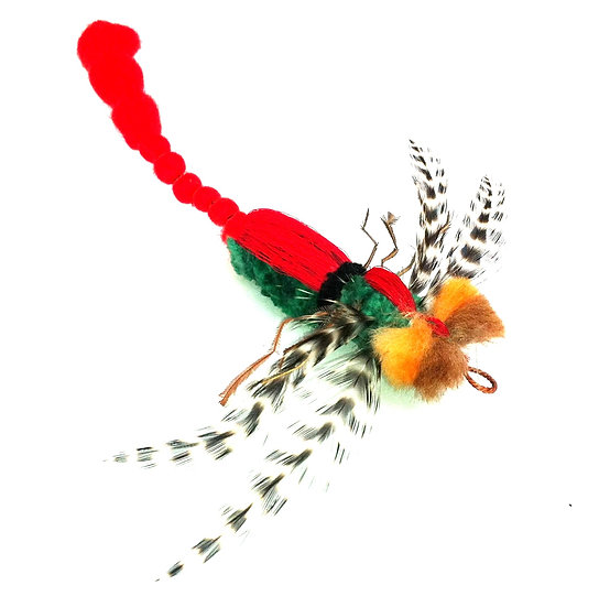 Purrs Dragonfly Cat Wand Attachment Toy