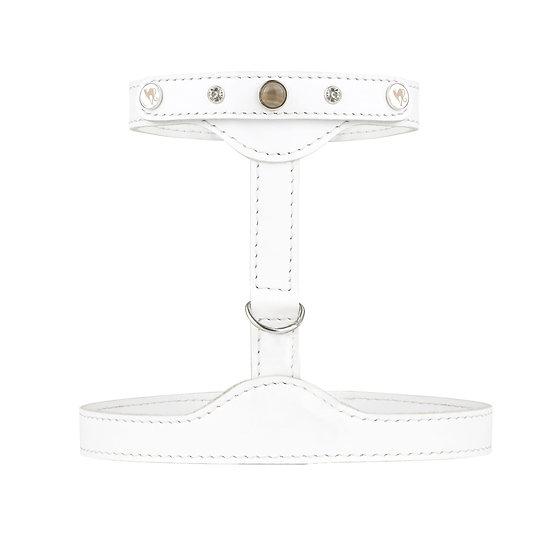 Smart Animal Cat Harness - Prestige Collection (White)