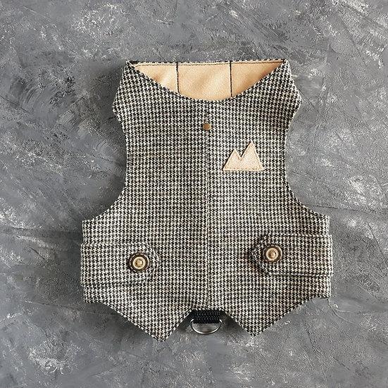 Sherlock Holmes Cat Harness Walking Jacket