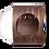 Thumbnail: MYZOO Spaceship Gamma (Walnut) Wall Mounted Cat Bed