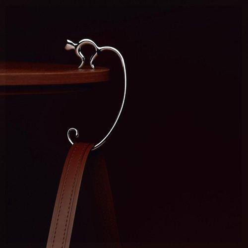 Alessi Minou Purse / Handbag Hook (Mirror Polished)
