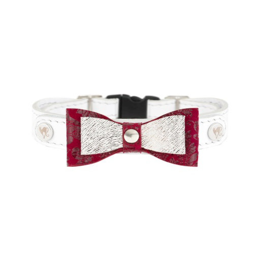 Smart Animal Cat Collar - Prestige Collection (White)