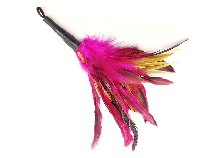 Purrs Rooster Fluffer Feather Cat Wand Toy Attachment