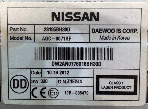 Nissan Daewoo Radio Code