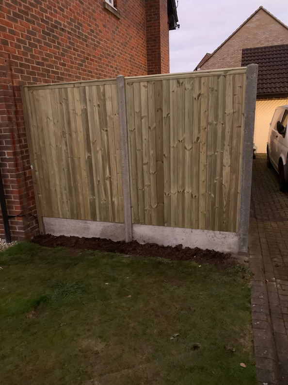 Tongue & Groove fence