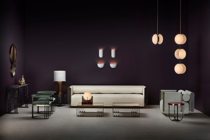Metamorphosis collection, designed in creative partnership between storied French iron maker Maison Pouenat and interior architecture firm Humbert & Poyet, debuted last week at Paris Design Week. The relationship between the two companies, which began a decade ago thanks to a meeting at Maison & Objet, is rooted in a mutual passion for artisan craftsmanship and respect for the delicate art of savoir-faire.