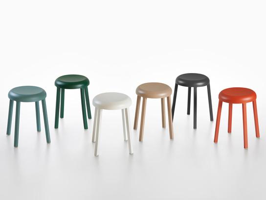 Naoto Fukasawa Designs Stool for Emeco