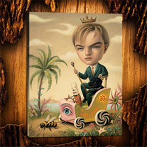 Leonardo DiCaprio by Mark Ryden