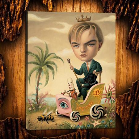 Leonardo DiCaprio por Mark Ryden