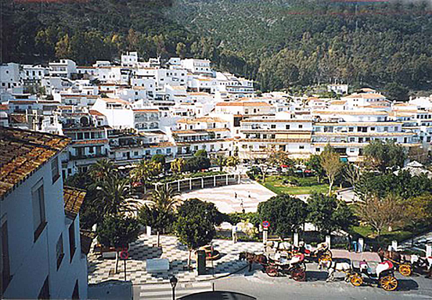 A view from above MIjas Village