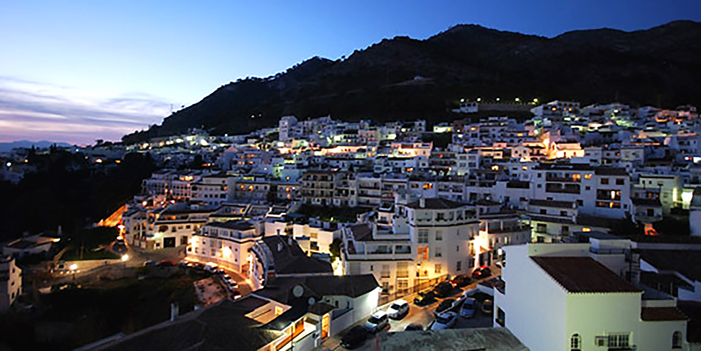 Mijas Village/Pueblo by night