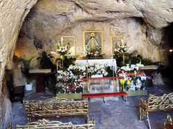 Virgen de la Pena Church in cave
