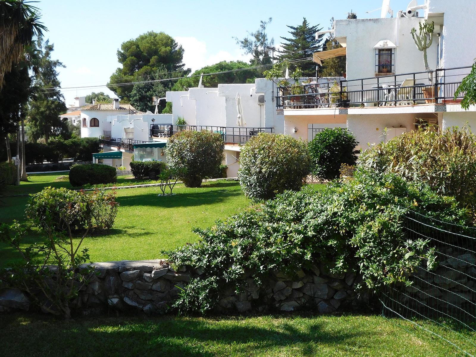 The lush garden complex