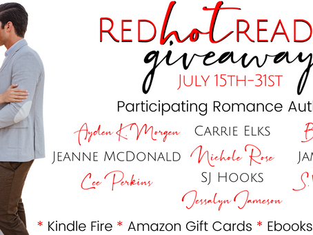 Red Hot Readers Giveaway