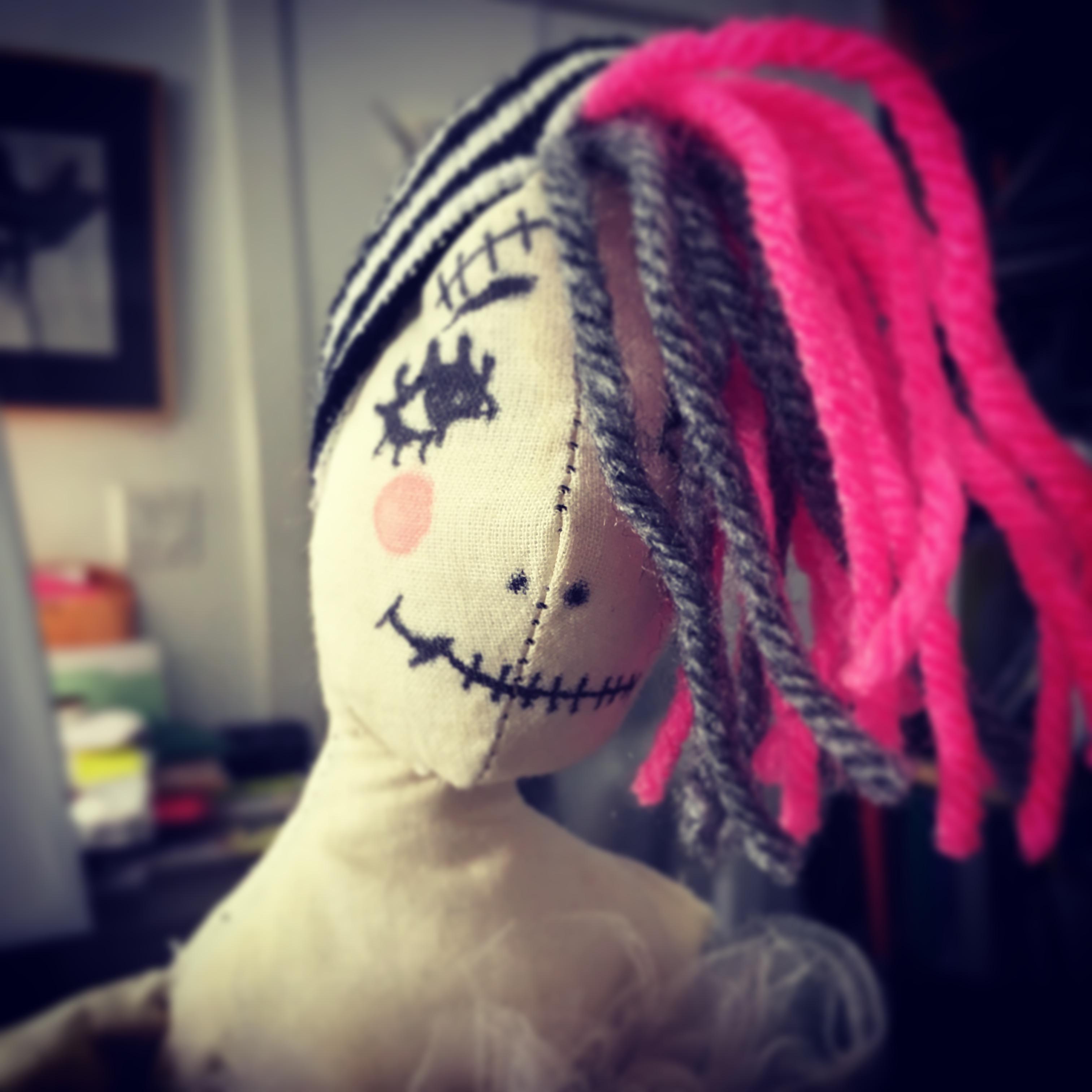 Emo Girl Rag Doll