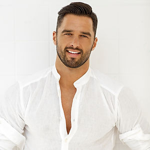 Handsome-man-in-white-shirt-Stock-Photo.