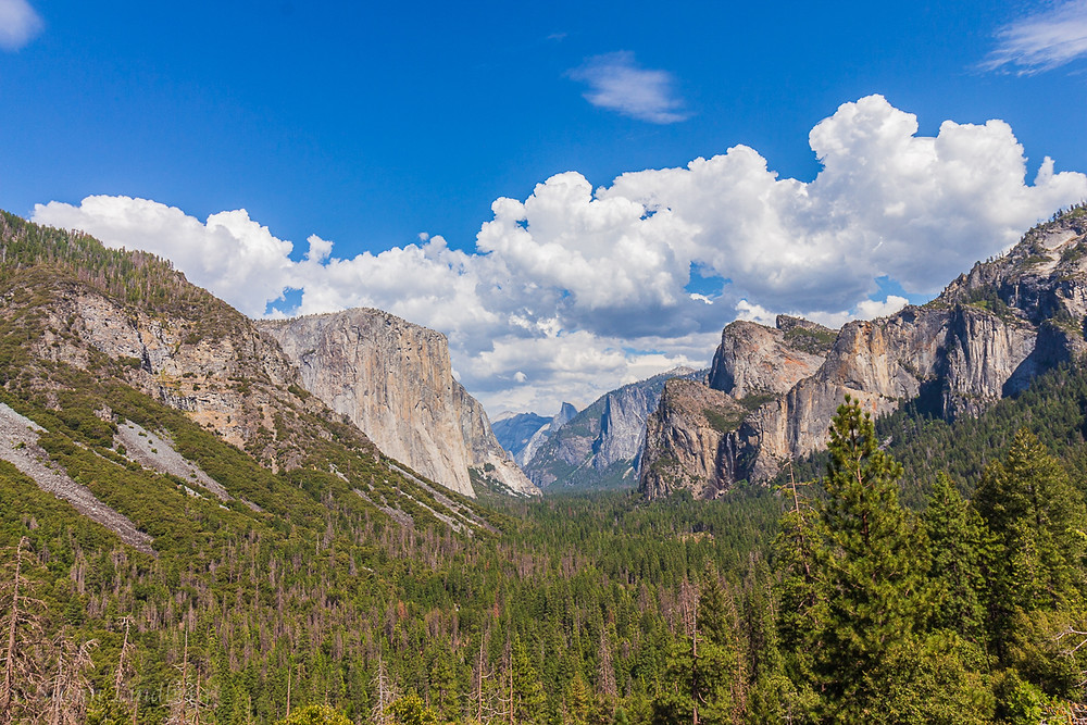 Tunnel View, Yosemite, California.  mountains, hiking, wilderness, nature, outdoors, wild, forests, Yosemite National Park