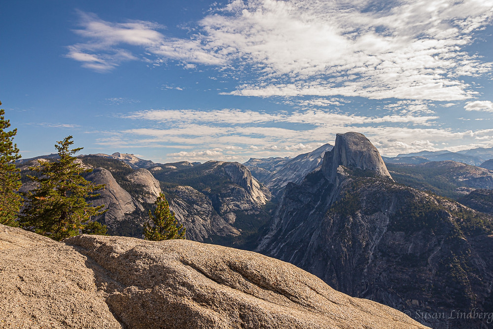 Glacier Point, Yosemite, California.  Half Dome, Yosemite Valley, mountains, nature, wilderness, vacation, travel, outdoors, hiking, photography