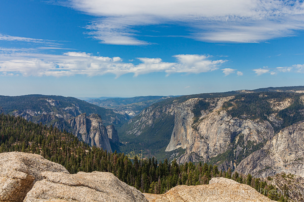 Yosemite, California, National Park, mountains, wilderness, views, view of Yosemite Valley from Sentinel Dome