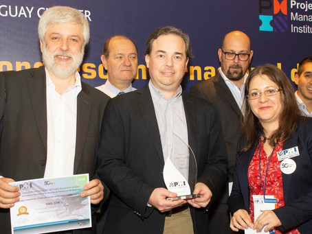 Un proyecto uruguayo que incorpora tecnología en el transporte fue reconocido por PMI