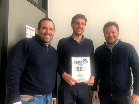 Furukawa premia a Isbel por la implementación del 1er proyecto de la solución Green en Uruguay