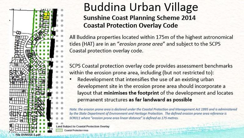 Buddina Urban Village Erosion Prone Area