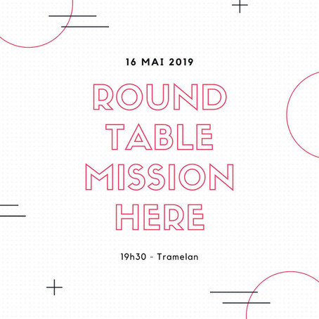 "16.05.19 - Table ronde ""mission here"""