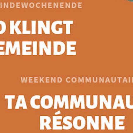 21-22.09.2019 Weekend communautaire / Gemeindewochenende