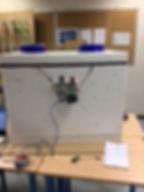 Maquette Eco cooler de l'Atelier Scientifique Vilgénis utilisation d'Arduino