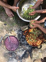 ליקוטי יער  | סדנת ליקוט ובישול למשפחות באזור המרכז