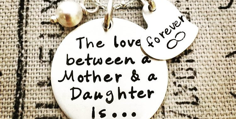 Mother Daughter Necklace