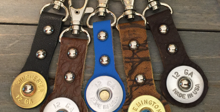 Bullet 12 Gauge Key Chain