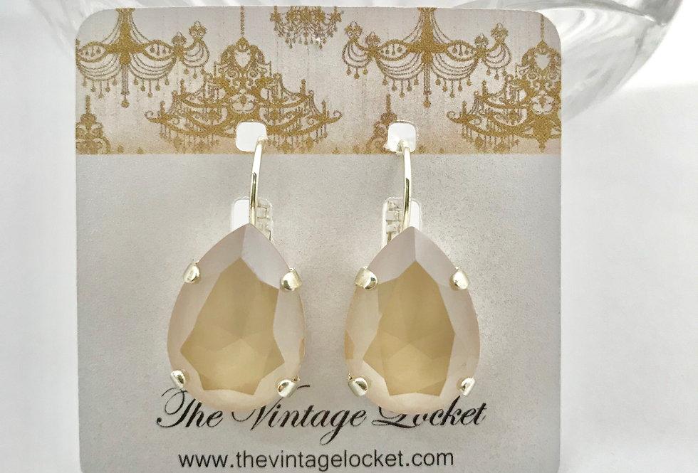 Kreme Swarovski Earrings
