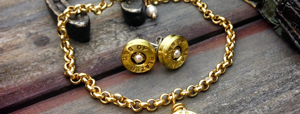 Bullet Bracelet Pearl