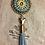 Thumbnail: Swarovski Bullet & Tassel Necklace