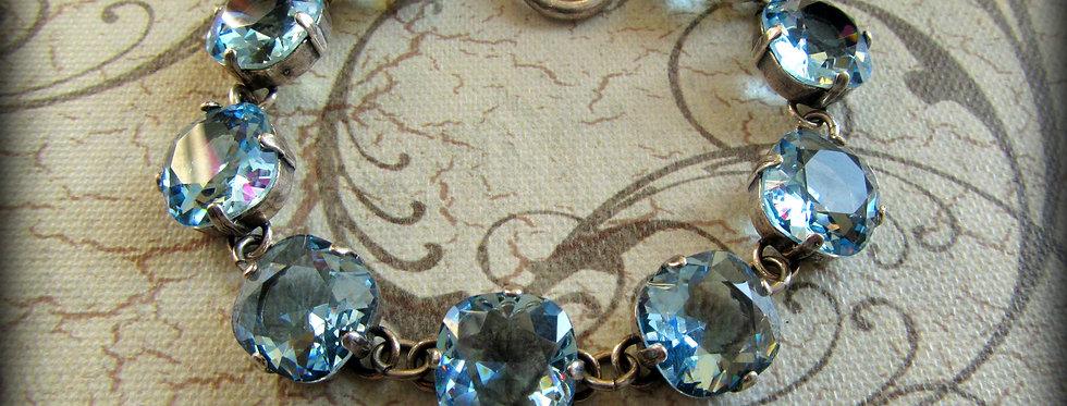 Swarovski Crystal Bracelet Aquamarine