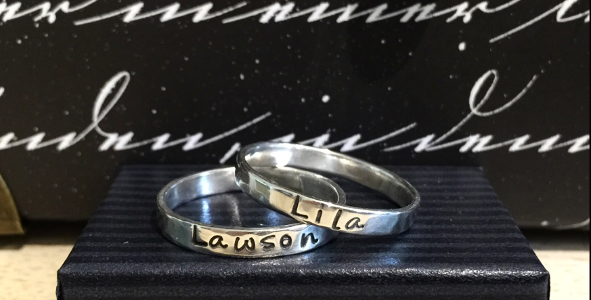 Customized Stacking Ring