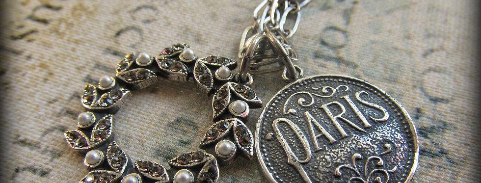 Paris Frame Necklace