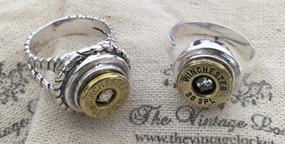 Bullet Ring Sterling
