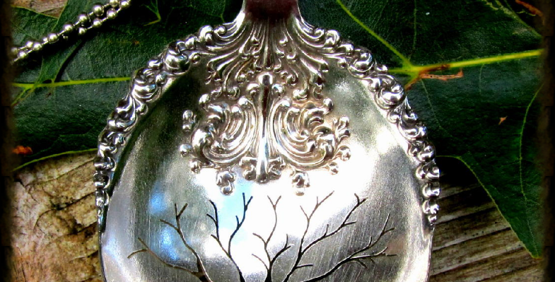 Tree of Life Spoon Necklace