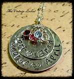 Hand Stamped Customized Jewelry