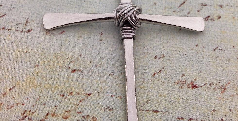 Aluminum Pendant Cross