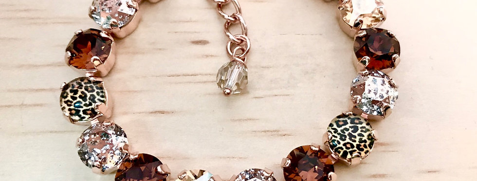 Leopard in Rosegold Bracelet