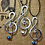 Thumbnail: Aluminum Treble Clef Necklace