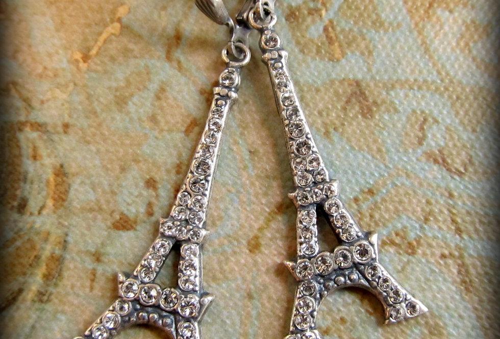 La Vie Eiffel Tower Earrings