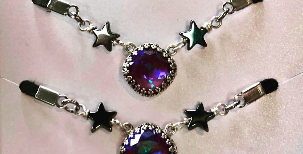 Swarovski Leather Choker