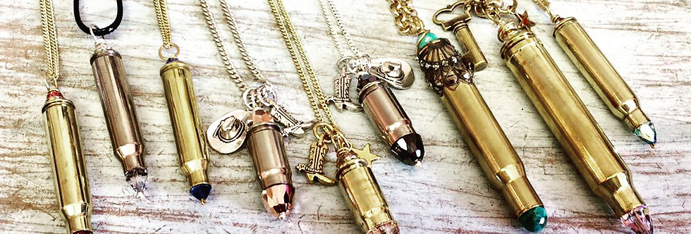 Bullet Necklace Full Casing
