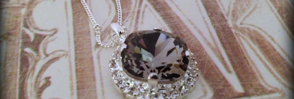 Sophie Princess Necklace Black Diamond