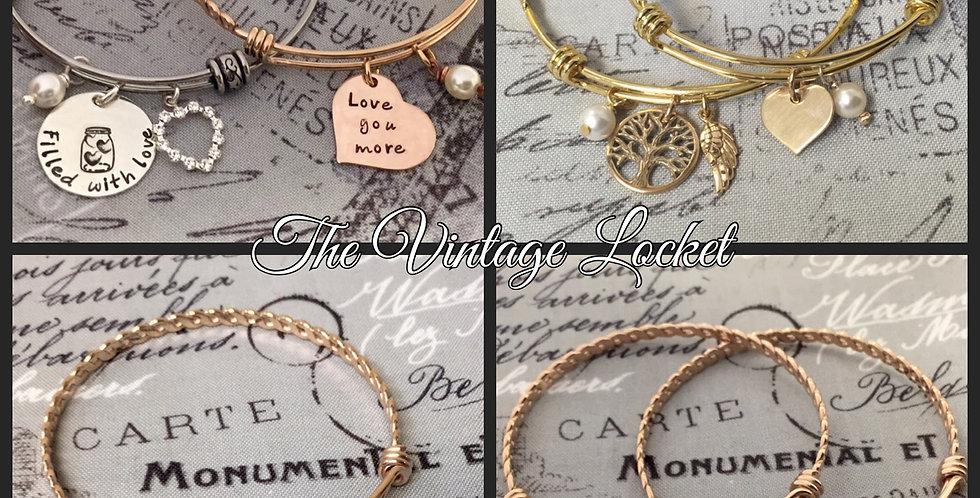 Jar of Hearts Bangle Bracelet
