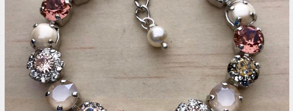 Blush Swarovski Bracelet